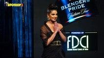Priyanka Chopra Walks The Ramp At Blenders Pride Fashion Tour