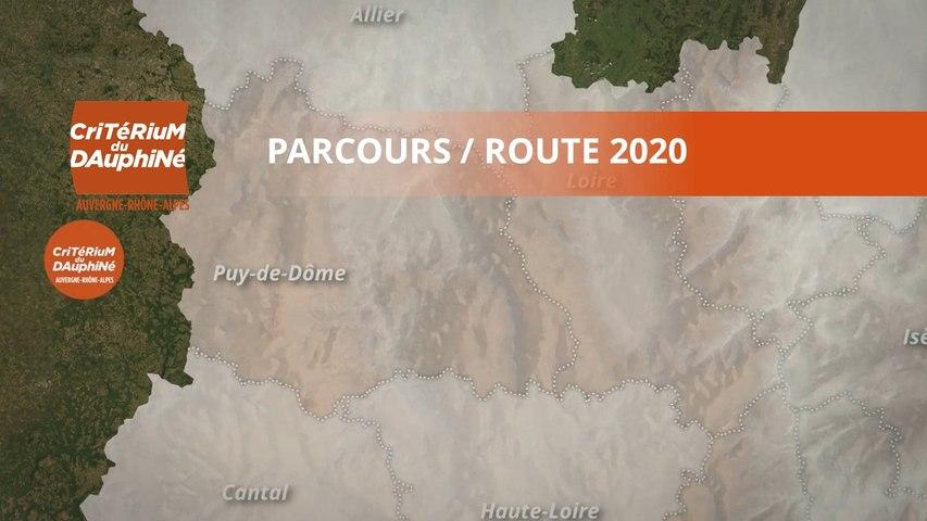 Parcours / Route : Critérium du Dauphiné 2020