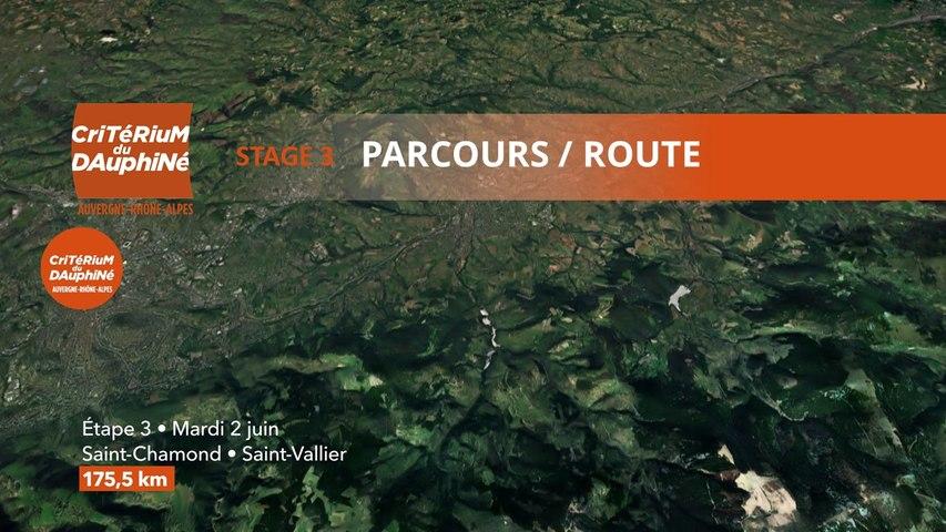 Parcours /Route - Étape 3/Stage 3 : Critérium du Dauphiné 2020