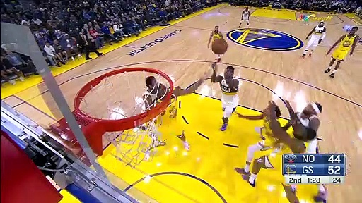 New Orleans Pelicans 115 - 101 Golden State Warriors