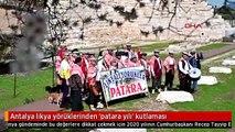 Antalya likya yörüklerinden 'patara yılı' kutlaması