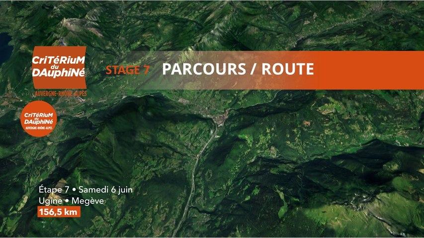 Parcours /Route - Étape 7/Stage 7 : Critérium du Dauphiné 2020