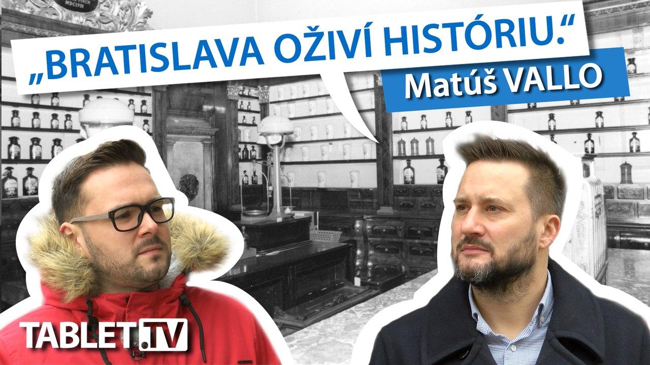 Matúš VALLO: Bratislava má smolu, že historické stavby sa viac búrajú než ochraňujú