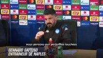 Naples : Le message de solidarité de Gattuso aux personnes touchées par le coronavirus