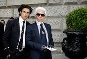 Baptiste Giabiconi était le plus gros héritier de la fortune de Karl Lagerfeld
