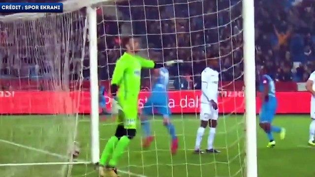 Le joli doublé d'Alexander Sorloth avec Trabzonspor