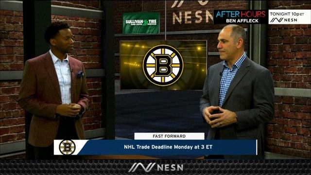 Will Bruins Still Be Active At Monday's NHL Trade Deadline?