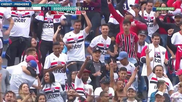 Le joli doublé de Dani Alves avec le Sao Paulo FC
