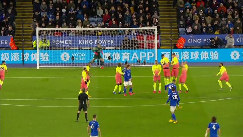Leicester City -  Manchester City (0-1) - Maç Özeti - Premier League 2019/20
