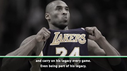 Davis to 'carry on' Kobe's legacy at Lakers