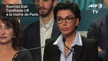 "Municipales à Paris: Rachida Dati se pose en ""seule alternative"" à Anne Hidalgo"
