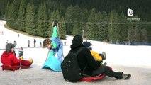Reportage - Col de Porte : Les touristes viennent skier en famille