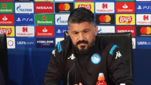 """FOOTBALL: Ligue des Champions: : 8es - Naples - Gattuso : """"Messi est un exemple pour le football mondial, pour les enfants"""""""