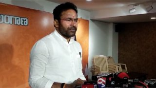 Protests should be peaceful- MoSG. Kishan Reddy
