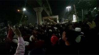 Protest escalates in Jaffrabad