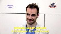 Hockey sur glace Interview de Léonard Nalliod Izacard, # 91 Attaquant des Sangliers Arvernes - Clermont-Ferrand, 22/02/2020 (D1 – J25 Clermont-Ferrand VS Cergy-Pontoise)