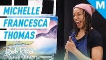 Michelle Francesca Thomas recreates Montclair, NJ in a Bob Ross Painting — The Bob Ross Challenge
