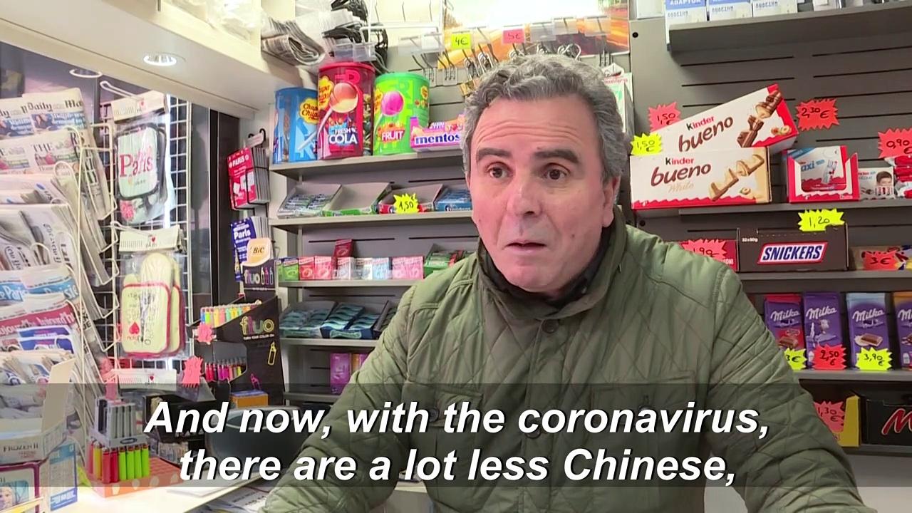 Coronavirus, missing Chinese tourists, hits Paris tourism sector