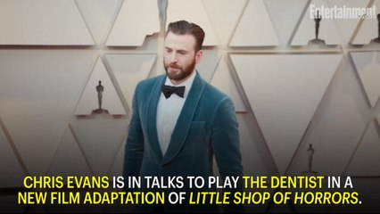 Chris Evans in Talks to Get Sadistic as Dentist in Little Shop of Horrors Remake