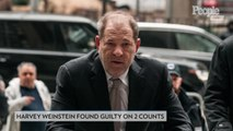Harvey Weinstein Found Guilty on 2 Sex Assault Charges
