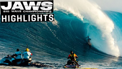 JAWS BIG WAVE SURFING CHAMPIONSHIPS   WSL Highlights