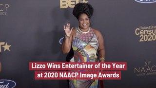 Lizzo Wins Big At 2020 NAACP Image Awards
