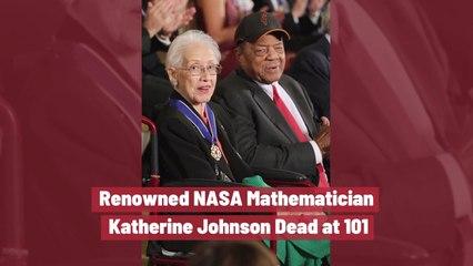 Katherine Johnson Has Died