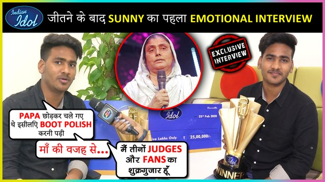 Indian Idol 11 WINNER Sunny Hindustani On His Struggle, Career & Much More | EXCLUSIVE INTERVIEW