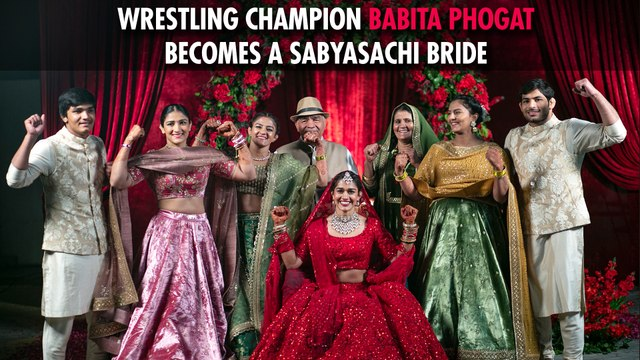 Babita Phogat's Bridal Journey | Band Baajaa Bride with Sabyasachi Mukherjee | Season 9 | Episode 1