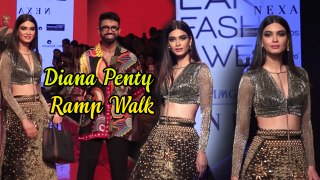 Diana Penty is Back with Amazing Look in Lakme Fashion Week Ramp Walk 2020