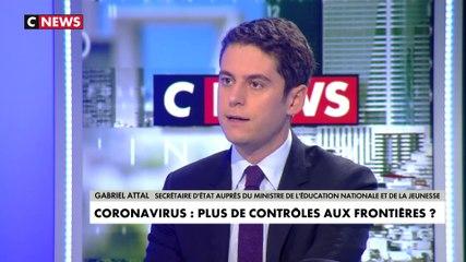 Gabriel Attal - CNews mardi 25 février 2020