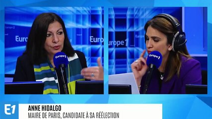 Anne Hidalgo - L'interview de 8h15 (Europe 1) - Mardi 25 février