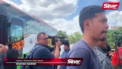 Nik Abduh ke Istana Negara naik bas