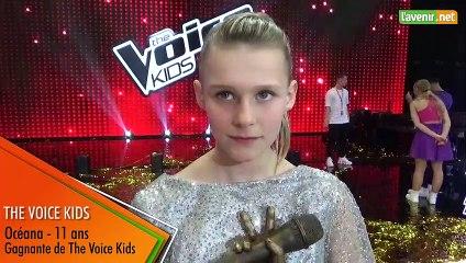 The Voice Kids - Interview Océana