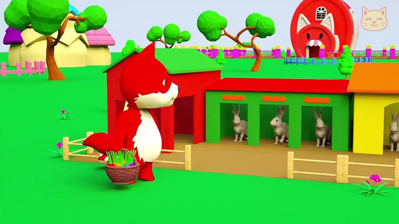 Rabbit For Kids – #Rabbits Eat Carrots