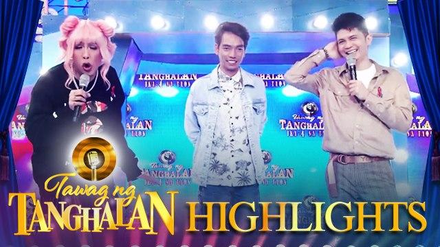 Vice asks for a replay of Vhong's exaggerated reaction | Tawag ng Tanghalan
