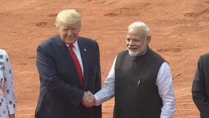 Trump clinches $3 billion military equipment sale on India visit