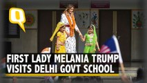 US First Lady Melania Trump Visits Delhi Government School