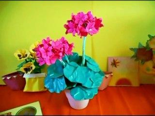 Origami Geranium