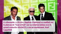 Baptiste Giabiconi : Karl Lagerfeld était prêt à tout pour qu'il gagne DALS