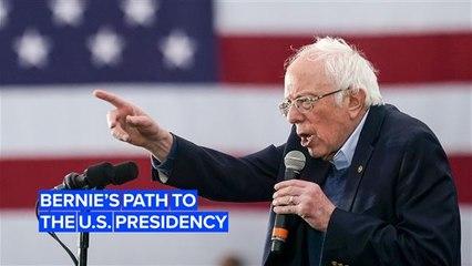 The 5 steps needed to make Bernie Sanders President