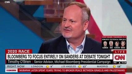 Bloomberg Senior Adviser Shocks CNN Host After Tying Bernie Sanders to Decades-Old Remarks on Women's Orgasms, Cancer