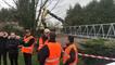 Installation du pylône Free mobile sous les yeux des riverains mécontents
