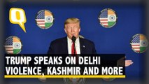 Trump's Press Conference: From Delhi Violence to India-Pak Tension