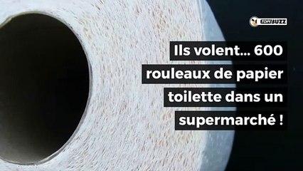 Ils volent 600 rouleaux de papier toilette en pleine hystérie autour du coronavirus