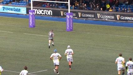 Highlights: Cardiff Blues v Rugby Calvisano