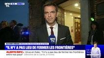 """Olivier Véran tacle """"les ragots de madame Le Pen"""" sur la fermeture des frontières"""