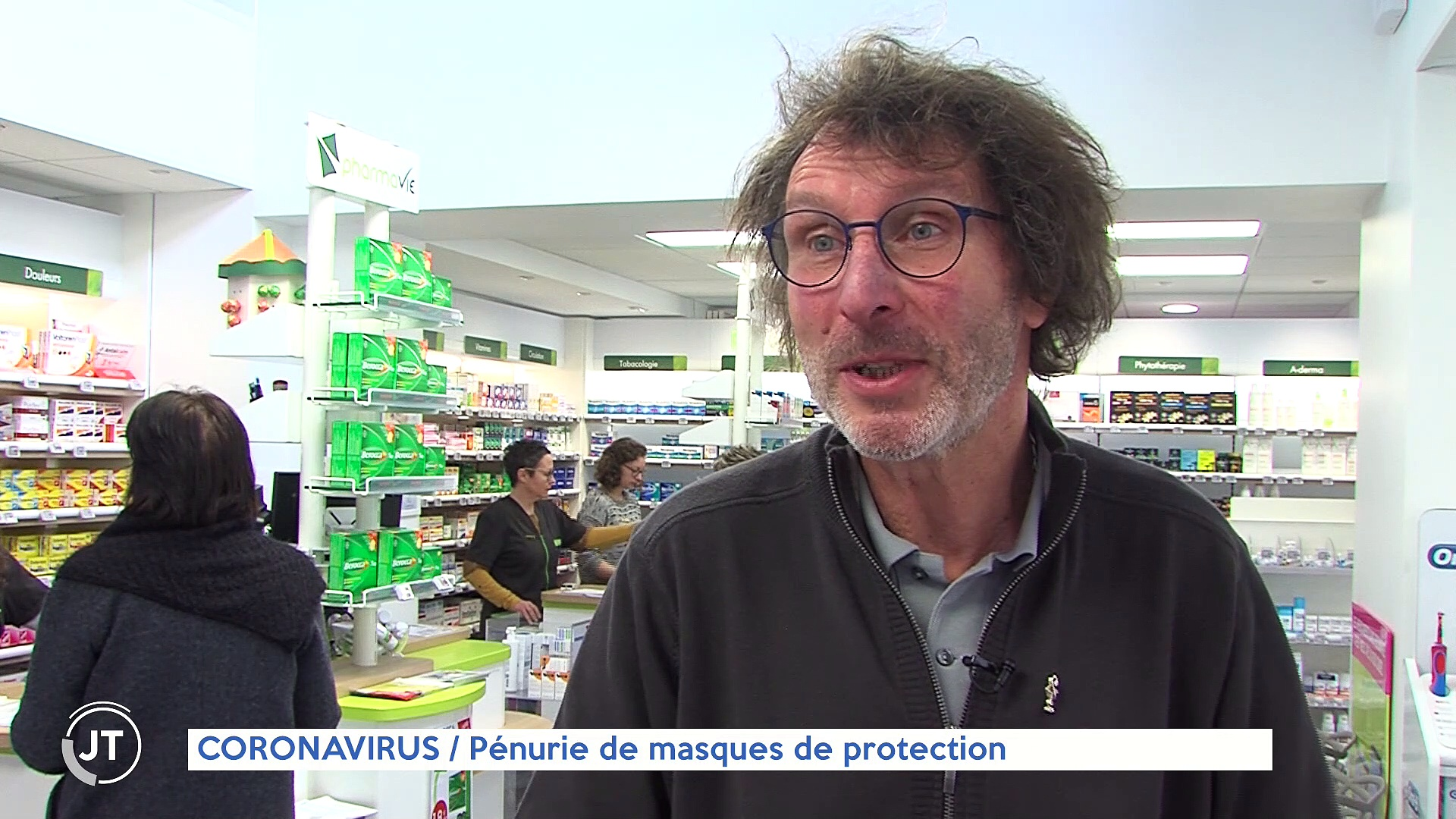 Le journal – 25/02/2020 – CORONAVIRUS SIx patients examinés pour des symptômes suspects au CHU