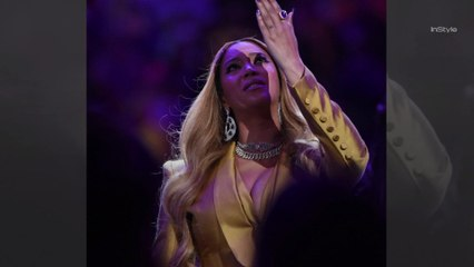 All the Ways Beyoncé's Outfit Paid Tribute to Kobe and Gigi Bryant