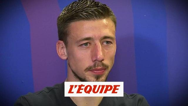 « L'entretien » avec Clément Lenglet « Encore pas mal de choses à améliorer » - Foot - C1 - Barça